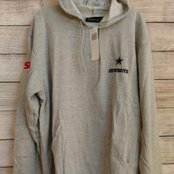 7e3c317ac BNWT Dunbrooke Dallas Cowboys Hooded Sweatshirt XL